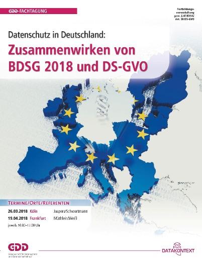 Zusammenwirken von BDSG 2018 und DS-GVO
