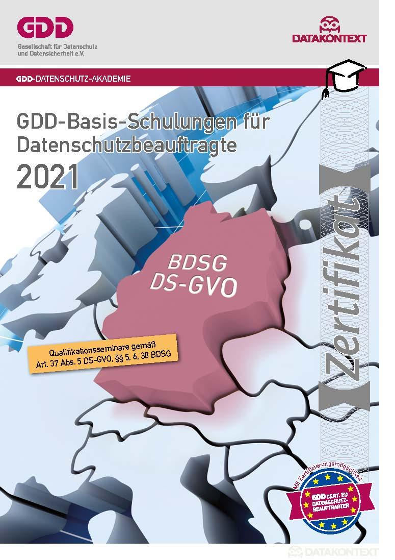 Datenschutz-Repetitorium zum GDDcert EU: Vorbereitung auf die GDDcert. EU-Prüfung