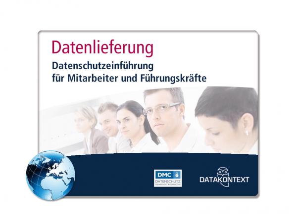 Datenschutzeinführung für Mitarbeiter und Führungskräfte