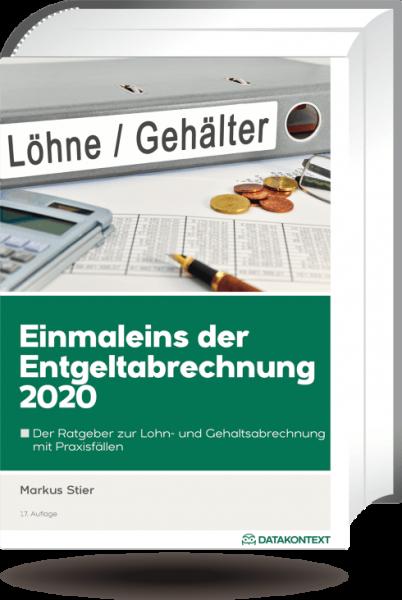 Einmaleins der Entgeltabrechnung 2020