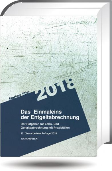 Einmaleins der Entgeltabrechnung 2018