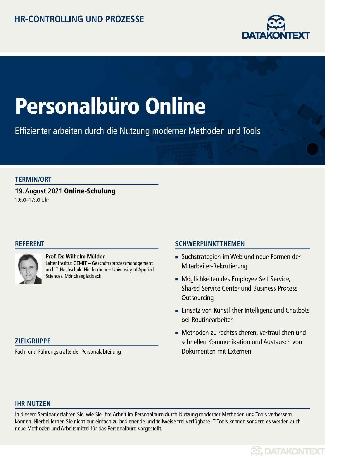 Personalbüro Online