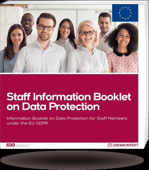 Mitarbeiterinformation Datenschutz  (Europaversion/englisch)