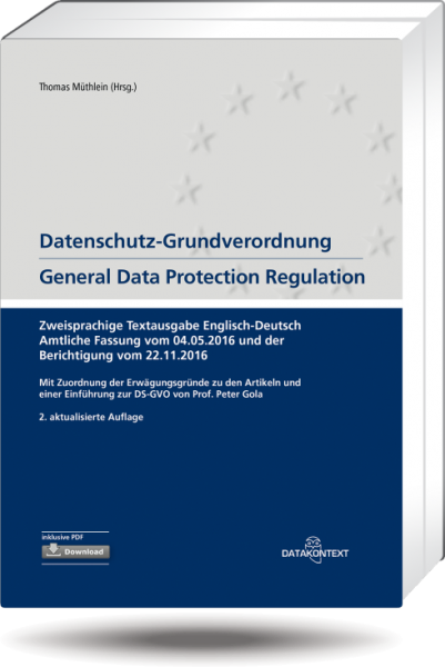 Datenschutz-Grundverordnung – General Data Protection Regulation
