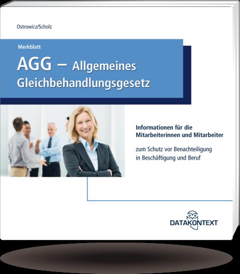 Merkblatt Allgemeines Gleichbehandlungsgesetz (AGG)